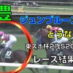 【競馬】東京スポーツ杯2歳ステークス:レース結果(武豊騎手はジュンブルースカイに騎乗)1番人気はダノンザキッド