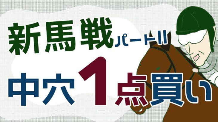 【競馬検証】新馬戦中穴1点買い!パートⅡ