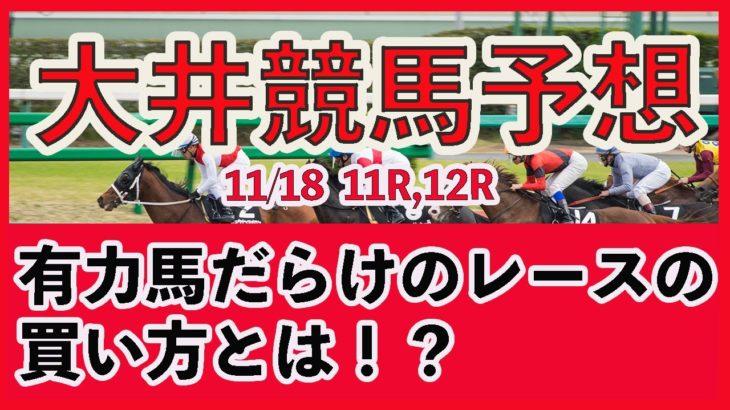 【 地方競馬予想 】大井競馬予想 11月18日11R,12R最後に買い目も発表しています  #大井競馬,#大井競馬予想,#地方競馬予想,#地方競馬,#競馬,#競馬予想,#JRA,#ギャンブル,#予想,