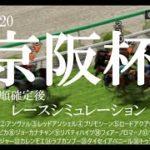2020 京阪杯 競馬予想 レースシミュレーション(枠順確定後)