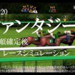 2020 ファンタジーステークス 競馬予想 レースシミュレーション(枠順確定後)