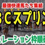 2020 JBCスプリント シミュレーション 枠順確定【競馬予想】地方競馬