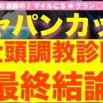 【競馬予想】ジャパンカップ2020予想の最終結論〜G1・7連勝へ!この馬で決まる・最高評価はズバ抜けた1頭〜