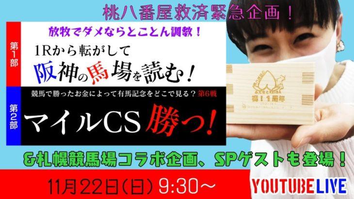 【競馬】マイルCSを当てるために、阪神を1Rから予想!