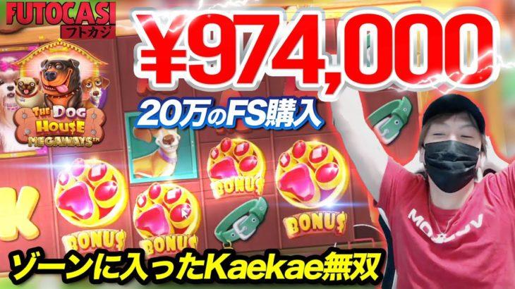 🔥【高額FS購入】ボーナスよっちゅからのミラクルな一撃降臨!【オンラインカジノ】【DOG HOUSE2】【フトカジ kaekae】