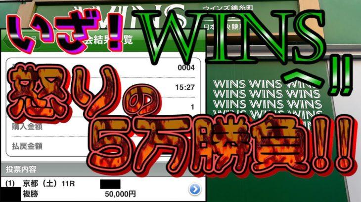 【競馬】いざ!WINSへ!怒りの5万勝負!!
