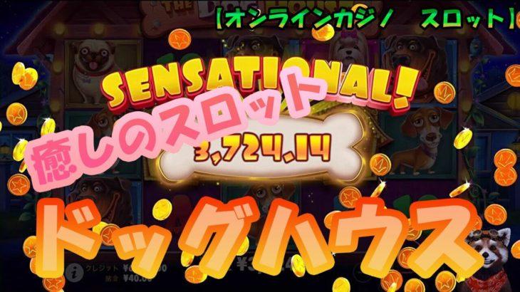 #143【オンラインカジノ|スロット】癒しのスロット❣ドッグハウス