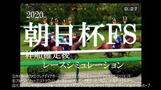 2020 朝日杯フューチュリティステークス 競馬予想 レースシミュレーション(枠順確定後)