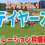 2020 ステイヤーズステークス シミュレーション 枠順確定【競馬予想】
