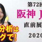 【競馬】阪神ジュベナイルフィリーズ 2020 直前展望 (登録馬全頭分析と名古屋グランプリの予想はブログで!) ヨーコヨソー