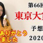 【競馬】東京大賞典 2020 予想 (12/31 東京シンデレラマイルはブログで!) ヨーコヨソー