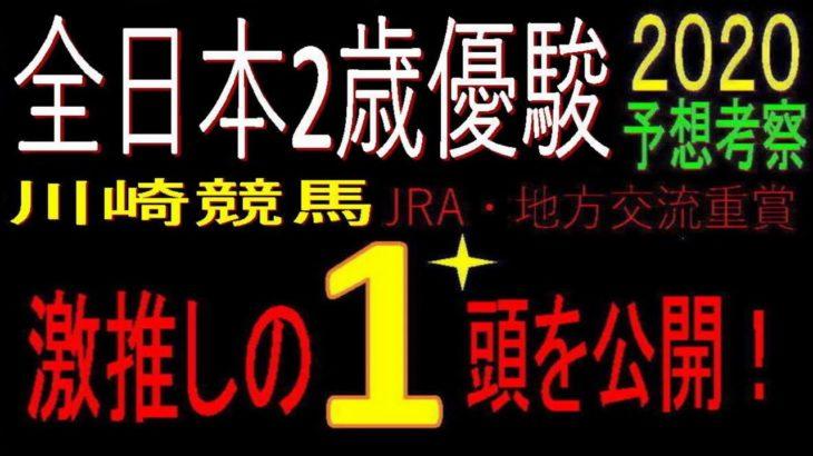 全日本2歳優駿2020(川崎競馬)消去法予想|激推し1頭公開!