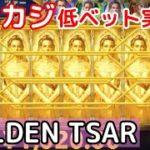 ビットカジノ実践!低ベットで遊べる「GOLDEN TSAR」を解説紹介