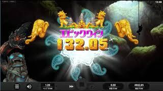 【オンラインカジノ】石を砕いて勝利しろ!【ITemple Tumble】