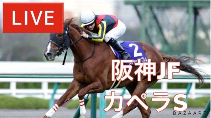 【競馬中継】『 阪神JF , カペラS , 香港競馬 』