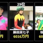 【TOP30】競馬の騎手・ジョッキーの年収ランキング【2019】「出走数や勝利数からジョッキーの年収データを算出」