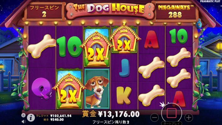 メガウィン130,000 CNY【オンラインカジノ】【1xslots】【DOGHOUSE2】