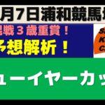 【競馬予想】ニューイヤーカップ2021年1月7日 浦和競馬場