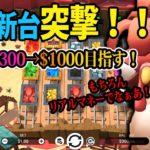 【オンラインカジノ】今月も$300→$1000を目指す!第1回!グラフィックが超良い感じ!カッコいいけど配当はしょぼい新台突撃!「PLAY🎲AMO」