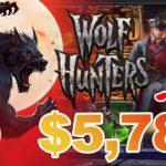 【オンラインカジノ・グリ戦記】一撃$5,784!WOLF HUNTERS IN Casino Jamboree