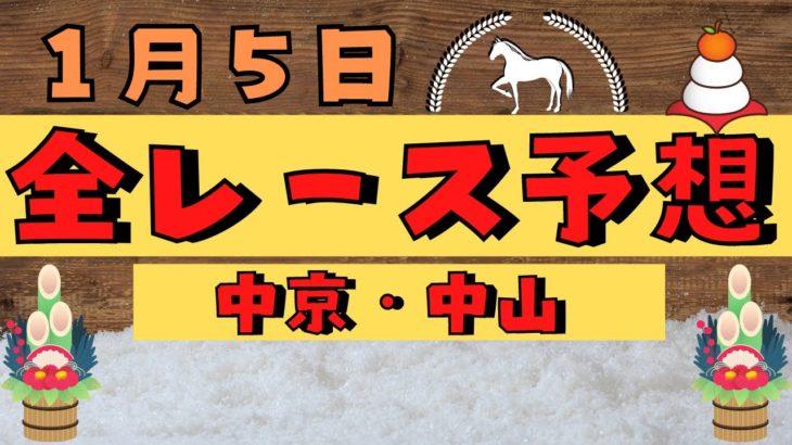 【週間競馬予想TV】2021年1月5日(火) 中央競馬全レース予想〜狙い馬・推奨レース〜を公開。中京・中山の平場、特別戦、重賞レース。注目馬を考察。