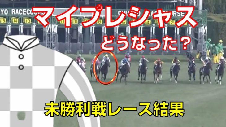 【競馬】マイプレシャス:未勝利レース結果:サラフィナ産駒・キーファーズ
