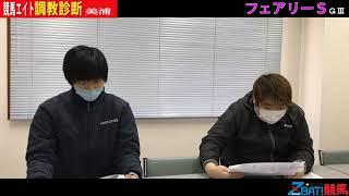 【競馬エイト調教診断】フェアリーS(佐藤圭&ゆきあき)