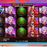 【オンラインカジノ】実践日記#14 ベラジョンカジノ (rise of samurai) ビデオスロット  Vera&John