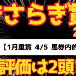 【競馬予想】きさらぎ賞2021 S評価はアノ馬!