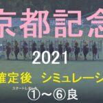 【競馬予想2021】第114回京都記念(GⅡ)。阪神芝2200m。シミュレーション枠順確定後6パターン(①~⑥良)【WP9】20210212