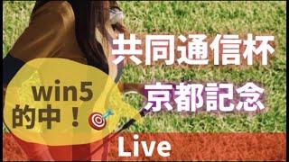 【競馬ライブ配信】win5的中!12R予想的中しまくり!勉強の成果!