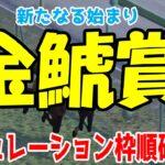 2021 金鯱賞 シミュレーション 枠順確定 【競馬予想】