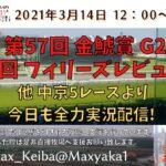 2021/3/14 第57回 金鯱賞 G2 第55回 フィリーズレビュー G2  他 中京 5レースより頑張って全力実況配信