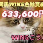 競馬WIN5金鯱賞編¥633,600買ってみた