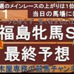 【競馬予想】福島牝馬ステークス2021 最終予想 新潟開催でボコボコに荒れた芝が想定されるも当日の馬場傾向には要注目! 馬券も荒れて欲しい…