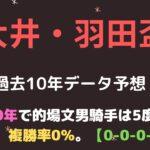 羽田盃2021予想【大井競馬】┃連続騎乗+叩き2走目の穴馬から勝負