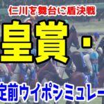 2021 天皇賞春 シミュレーション【ウイニングポスト9 2021】【競馬予想】枠順確定前