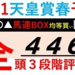 【競馬予想】天皇賞春2021予想【全頭評価 G1回収率446%】