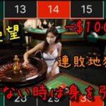 【毎日カジノ#21】勝てる気がしない。ルーレットで爆死(後編)
