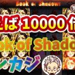 【オンラインカジノ】レオベガスでフリースピン購入可能機種スロットBook of Shadowsを回してみた!!揃えば10000倍!!