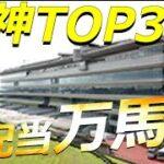 【万馬券】阪神競馬場の万馬券TOP3!4月17日(土)のおさらい!