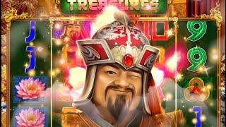 【オンラインカジノ】新台!Temujin Treasuresを200回転回してみる