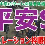 平安ステークス2021 枠順確定後シミュレーション 【競馬予想】