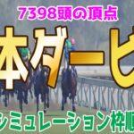 日本ダービー2021 枠順確定後ウイポシミュレーション 【競馬予想】エフフォーリア サトノレイナス