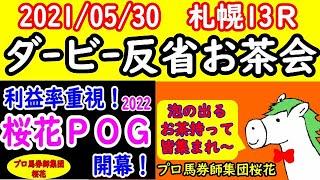 日本ダービー2021お疲れ様!泡の出るお茶会開始 プロ馬券師集団『桜花』