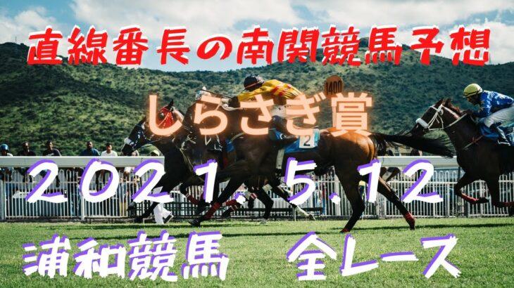 地方競馬予想【浦和競馬】5月12日 しらさぎ賞 他全レース予想