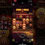 FIRE IN THE HOLE   0.2ベットからの大爆発 オンラインカジノ