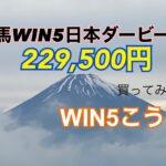 競馬WIN5日本ダービー週¥229,500買ってみた