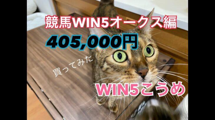 競馬WIN5オークス編¥405,000買ってみた