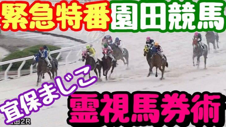 【緊急特番】宜保まじこ園田競馬霊視馬券術